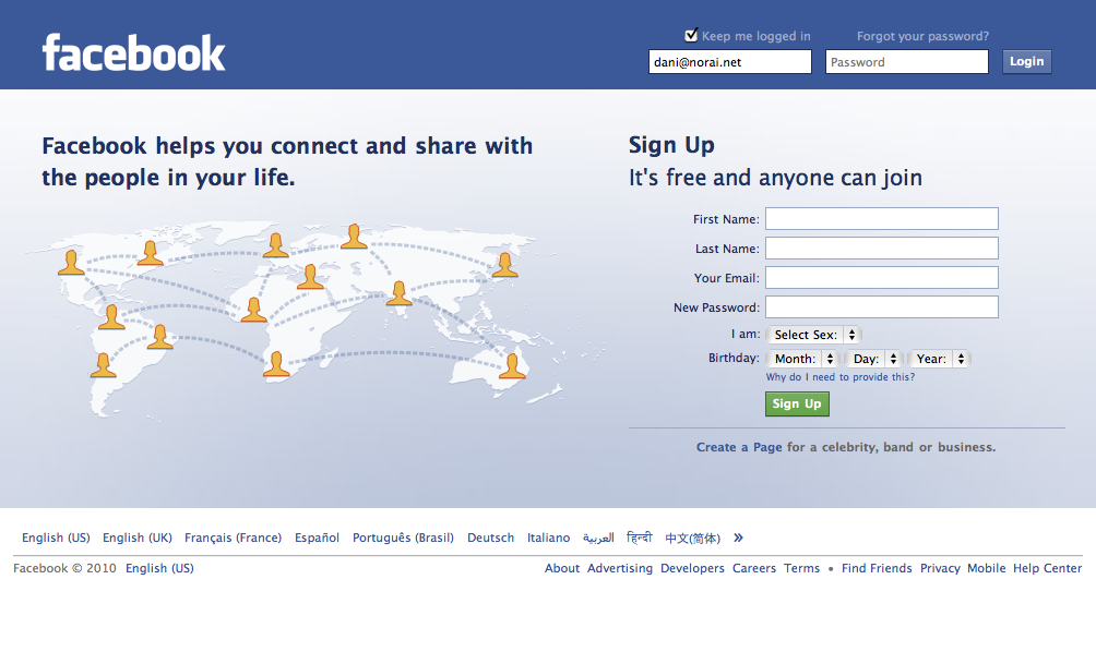 Welcome to facebook login sign up or learn more the home page pictures